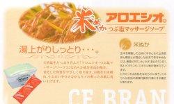 画像1: 大容量! 【米ぬか アロエ塩】 (800g)/フタバ化学
