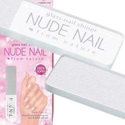画像1: 【メール便送料無料】ヌードネイル(専用ケース)・グラス ネイルシャイナー / Nude Nail