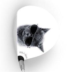 画像1: golf skin ゴルフスキン フルスキン F426 / ドライバー用グラフィックフィルム (メール便発送165円)