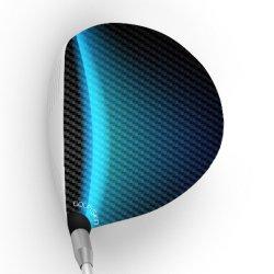 画像1: golf skin ゴルフスキン フルスキン F331 / ドライバー用グラフィックフィルム (メール便発送165円)